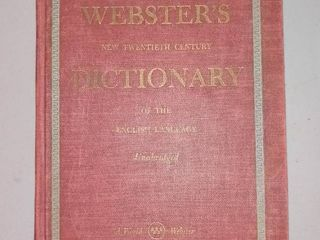 1952 Websters Dictionary
