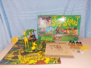 Original 1966 Silly Safari Board Game by Topper Toys