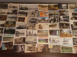 lot of 50  Vintage Postcards