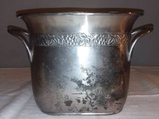 Pottery Barn Grapevine Divided Wine Ice Bucket