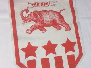 1968 Republican Party Felt Triumph Banner