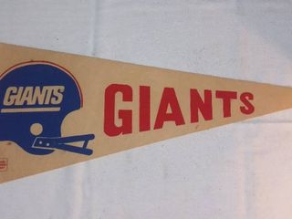 Vintage New York Giants Felt Pennant
