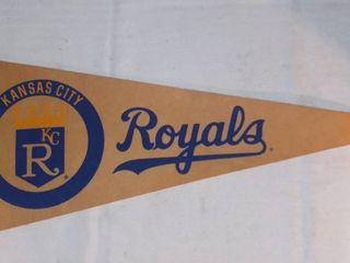 Vintage Kansas City Royals Felt Pennant