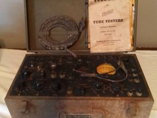 Hickok Signal Corps Tube Tester I 177 Powers On