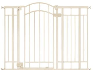 Summer Multi Use Deco Extra Tall Walk Thru Gate  Beige  28 5   48 Inch