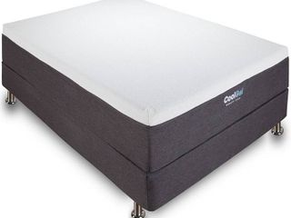 Classic Brands Cool Ventilated Gel Memory Foam 12 Inch Mattress CertiPUR US Certified Bed in a Box  Twin Xl  White