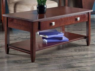 Winsome Richmond Occasional Table  Antique Walnut