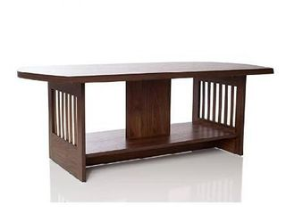 Omishome Premium Design Brown Coffee Table   Classic Design   Finely Crafted