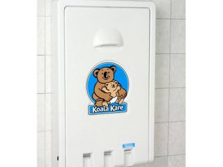 Koala Kare KB101 05 Vertical Wall Mounted Baby Changing Station  White Granite
