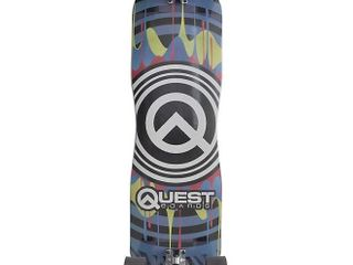 Quest Skateboards Q Drips 39  longboard  Multi
