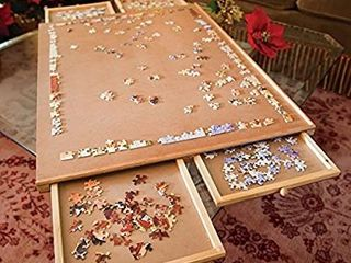 Standard Size  29 Aa21  Puzzle Board  Puzzle Table  Puzzle Tables for Adults  Puzzle Boards and Storage  Jigsaw Puzzle Table  Puzzle Tray  Weight  8 8 lBS  4 KGS