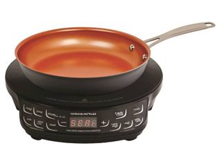NuWave Flex Precision Induction Cooktop with 9 inch Frying Pan