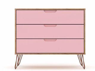 Carson Carrington Bandene Modern 3 drawer Dresser  Retail 189 99