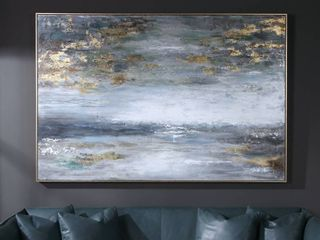 Uttermost Dawn To Dusk Hand Painted Art