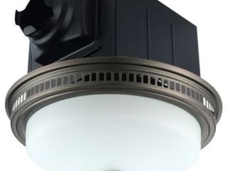 Ceiling Exhaust Bathroom Fan with light and Nightlight  Retail 104 49