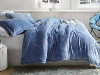 BYB Coma Inducer Frosted Pacific Blue Queen Comforter  Retail 116 49