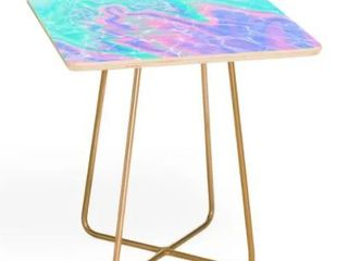 Deny Designs Poolside Side Marble Table  Retail 95 49