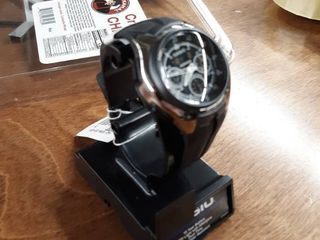 Casio Men s Alarm Chronograph Watch   Black   W201 1AV