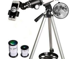 Gskyer Telescope 70mm Aperture 400mm Az Mount Astronomical Refracting Telescope Retail   135 99