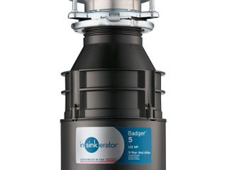 InSinkErator Badger 1 2 hp Garbage Disposal