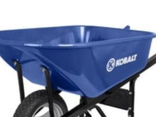 Kobalt 6 cu ft Steel Wheelbarrow Base