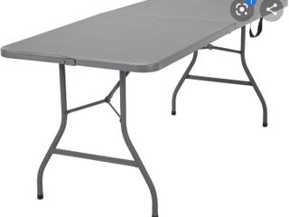 Cosco Signature 6ft Fold In Half Resin Table