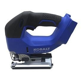 Kobalt 24 Volt Max Variable Speed Keyless Cordless Jigsaw  Bare Tool