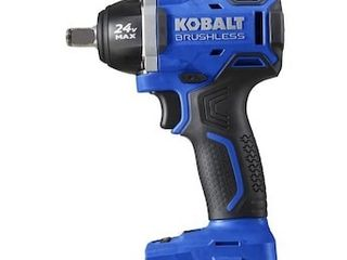 Kobalt 24 Volt Max Variable Speed Brushless Drive Cordless Impact Wrench Bare Tool