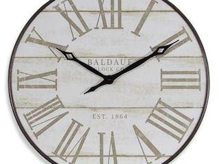 allen   roth Analog Round Wall Clock