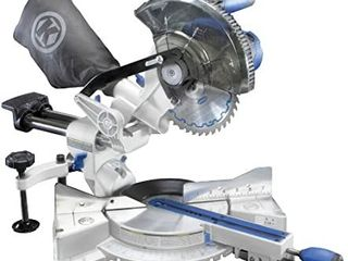 Kobalt 7 1 4 in 24 volt Max Dual Bevel Sliding Compound Cordless Miter Saw TOOl ONlY