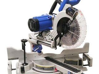 Kobalt 10 in 15 Amp Dual Bevel Sliding Compound Corded Miter Saw