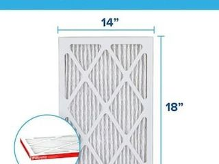 14 in x 18 in x 1 in 1085 MPR Allergen Defense Extra Electrostatic Pleated Air Filter