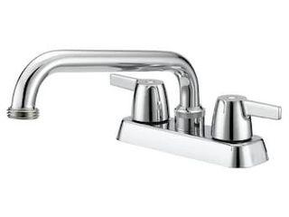 Project Source Chrome 2 handle Utility Faucet