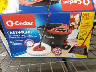 O cedar Easywring Spin Mop Bucket And Mop Head