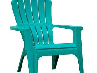 Adams Manufacturing RealComfort Outdoor Resin Adirondack Chair  Teal
