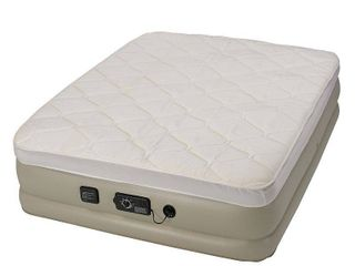 Insta Bed 18  Raised Queen Pillow Top Air Mattress with neverFlAT Ac Pump