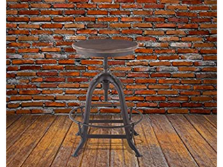 AA Warehousing Wide Bar Stool With Adjustable Height  16