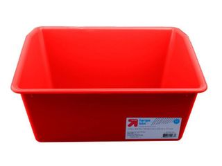 large Storage Bin Red   Up Up