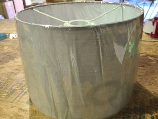 Gray lamp Shade 10 inch wide 7 inch high