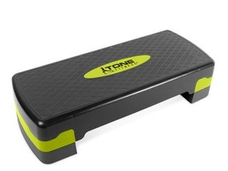 Tone Fitness Yellow Aerobic Step Platform  Black and Yellow