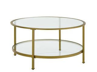 Aimee Glasss Coffee Table  Retail 293 99