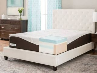 ComforPedic from Beautyrest 14 inch Gel Memory Foam Mattress   King   Medium  2513 83