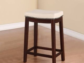 Set of 2   Copper Grove Willamette Backless Counter Stool