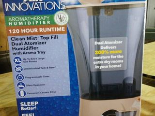 Air Innovations 2 2 Gal Top Fill Digital w  Aroma Tray   Taupe