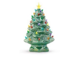 14  Pearlized Nostalgic Tree   Green