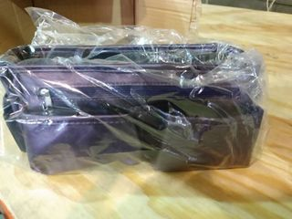 Purple   Set of 2 Ready Set Go Expandable Bag Organizers by lori Greiner