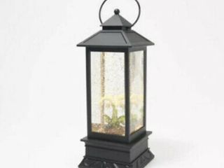 New lori Greiner Illuminated Color Changing White Orchid Water lantern w  Timer