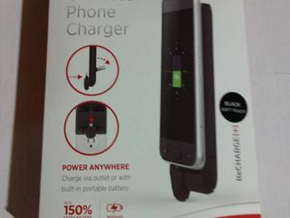 hone Charger for iPhone and Android by lori Greiner Black    19 99 Retail