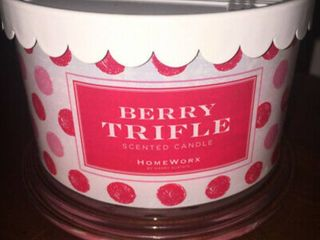 Homeworx By Harry Slatkin Set of 2 Berry Trifle 4 wick candles