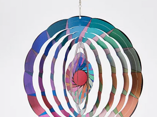 Colorful Hanging 3D Spiral Wind Spinner
